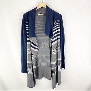 Kaisely Anthro Open Front Cardigan Extra Large
